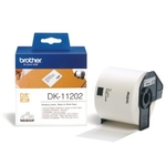 Brother DK-11202 DirectLabel Étiquettes 62mm x 100mm 300 pour Brother P-Touch QL/700/800/QL 12-102mm/QL 12-103.6mm