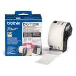 Brother DK-11208 DirectLabel Étiquettes 38mm x 90mm 400 pour Brother P-Touch QL/700/800/QL 12-102mm/QL 12-103.6mm