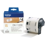 Brother DK-11209 DirectLabel Étiquettes 29mm x 62mm 800 pour Brother P-Touch QL/700/800/QL 12-102mm/QL 12-103.6mm