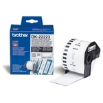 Brother DK-22223 DirectLabel Étiquettes blanc 50mm x 30,48m pour Brother P-Touch QL/700/800/QL 12-102mm/QL 12-103.6mm