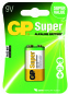 Pile 9V / 6LR61 ALCALINE GP Batteries super